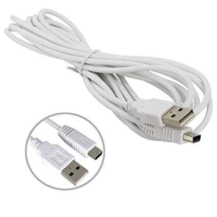 Amazon.com: aiposen Cable Cargador USB para Nintendo Wii U ...