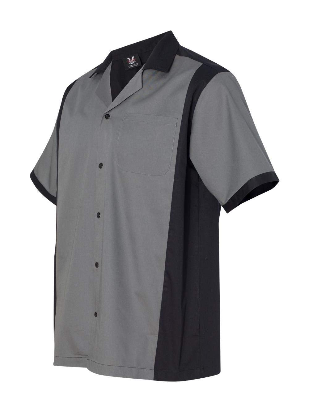 Hilton Cruiser Bowling Shirt 3XL Steel