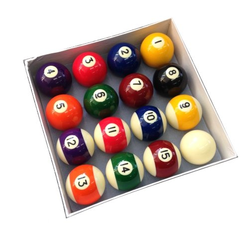 Homegames Spots and Stripes Pool Table Ball Set UK 2