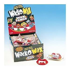 Wack-o-Wax Wax Fangs (Pack of 24)