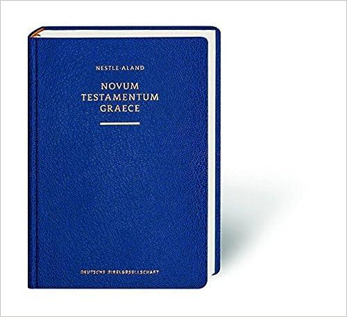 Novum Testamentum Graece-FL(German, Greek and English) (Greek, English and German Edition)