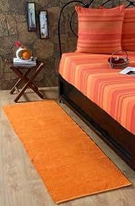 Homescapes alfombra de chenilla 100 algod n 66 x 200 - Amazon alfombras pasillo ...