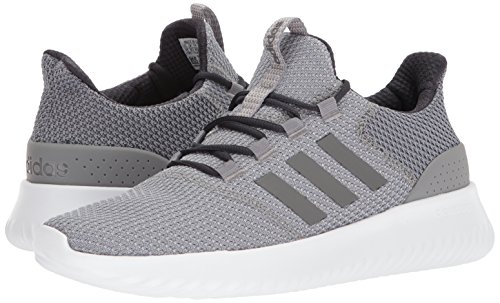adidas Men's Cloudfoam Ultimate Running Shoe Sneaker Grey/White/Carbon 5 M US by adidas (Image #6)