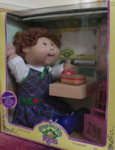 Cabbage Patch Doll Back to School doll - Brunette
