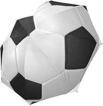Custom Fútbol balón de fútbol plegable lluvia/sol paraguas Parosol ...