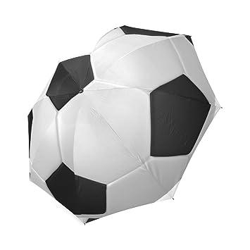 Custom Fútbol balón de fútbol plegable lluvia/sol paraguas Parosol