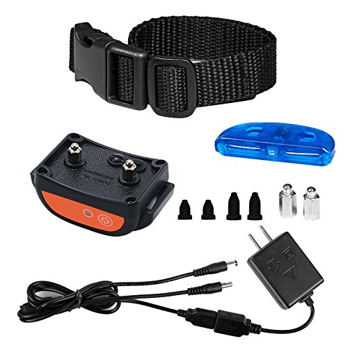 Rechargeable Receiver Collar for Underground Electric Dog Containment Fence System