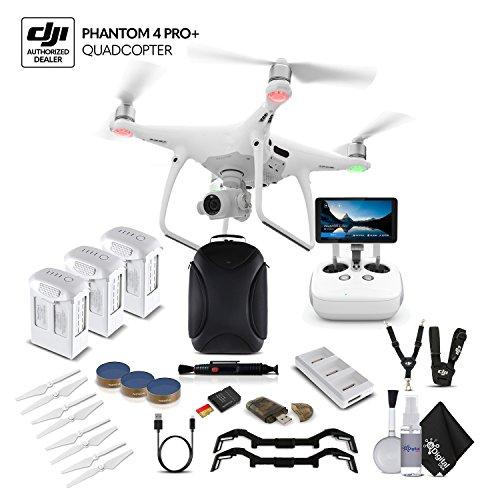 DJI Phantom 4 Pro+ (CP.PT.000549) 3 Battery Bundle