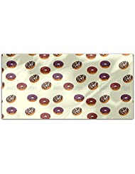 Delicious Donuts Rectangle Tablecloth Large Dining Room Kitchen Woven Polyester Custom Print