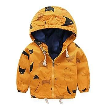664011b467cb Amazon.com  Felds Fashion Boys Clothes Jacket Coat Autumn Winter ...