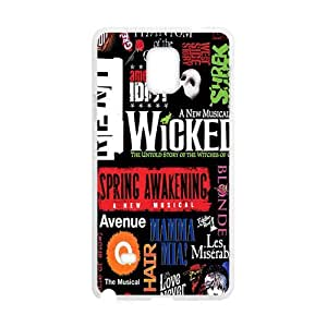 Happy Wicked Cell Phone Case for Samsung Galaxy Note4