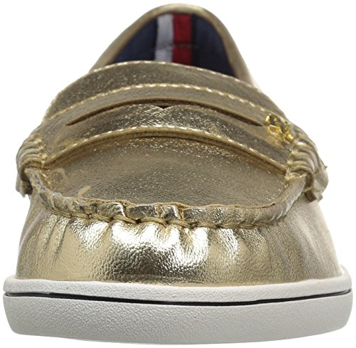 Boat Gold Butter Women's Hilfiger Shoe Tommy wqBt6PC