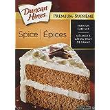 Duncan Hines Premium Cake Mix, Spice, 515g