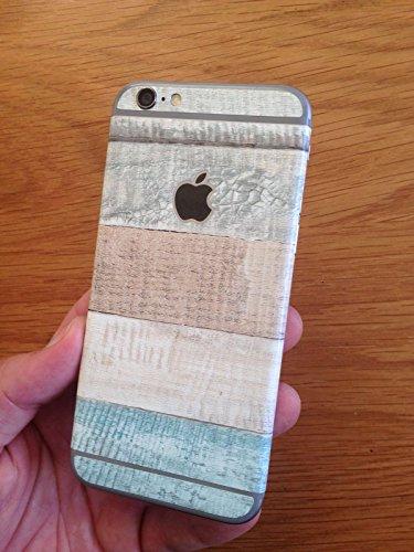 Per legno, carta da parati, iPhone 6, iPhone 6, adesivo, solo per la parte posteriore del telefono, con decalcomanie/apple iPhone/iPhone, skins-Adesivo testurizzato vinile e