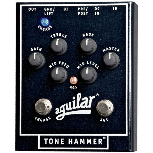 Aguilar Tone Hammer Bass Preamp Direct Box by Aguilar