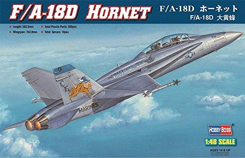 Hobby Boss HY80322 F/A-18D Hornet Airplane Model Building Kit