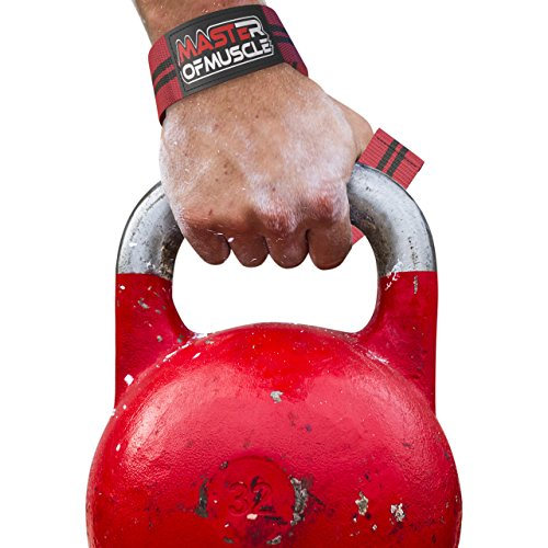 NEW YEAR DEAL Lifting Straps For Bodybuilding & All Types of Strength Workout Lifts Weight Power Olympic DeadLifts Kettlebell Bonus Lifting Technique Ebook