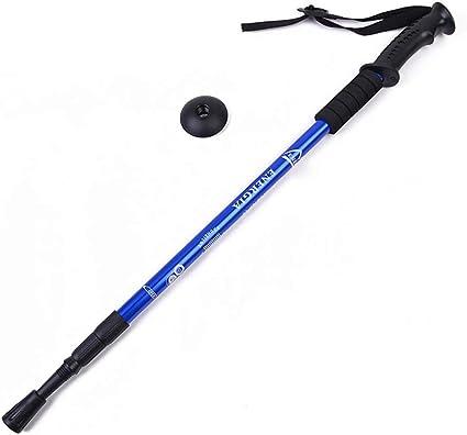 Foldable Anti Shock Walking Stick Telescopic Cane Hiking Trekking Pole Travel