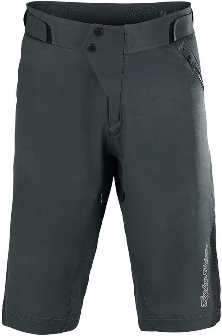 30 Mens Solid Charcoal Troy Lee Designs Ruckus Short Shell