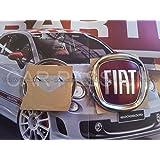 embleme FIAT 500 CINQUECENTO insigne logo COFFRE ARRIERè postérieur ORIGINAL OEM
