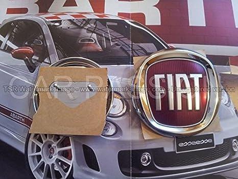 Fregio Stemma Logo Fiat Posteriore 500 Cinquecento Croma Originale 95mm Sigla