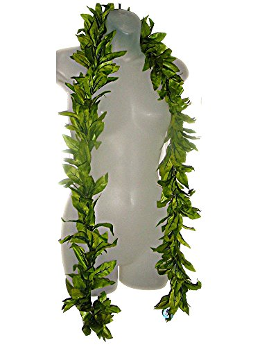 Hawaiian Maile King Silk Open LEI Graduation Hula Luau