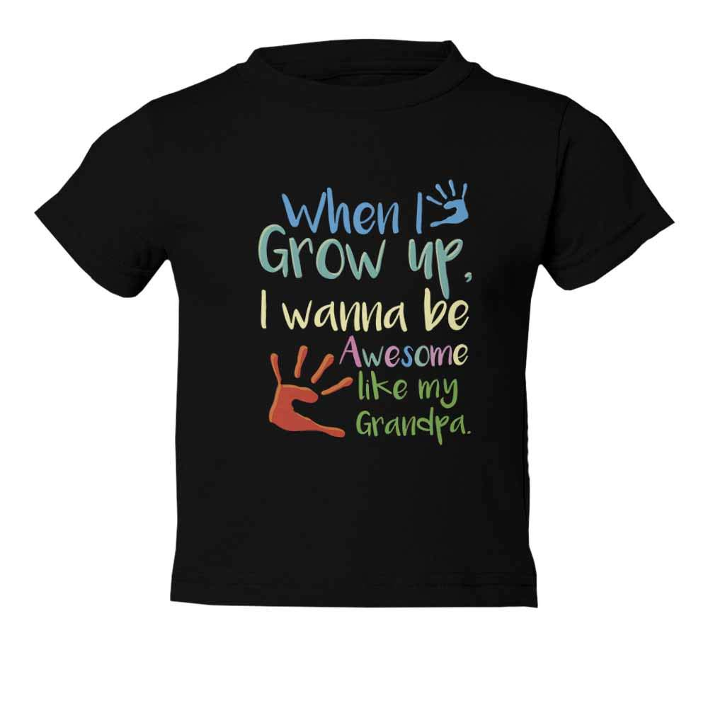 Grandchild Awesome Like My Grandpa Graphic Youth /& Toddler Tee Shirt