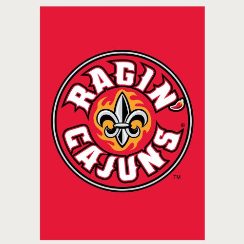 - Louisiana - Lafayette Applique Flag (Garden)