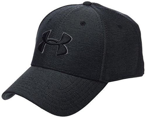 Price comparison product image Under Armour Men's Heathered Blitzing 3.0 Cap, Black (001)/Black, Small/Medium