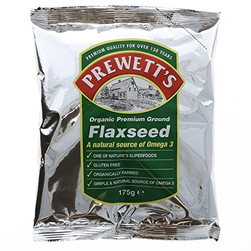 Prewett's - Organic Premium Ground Flaxseed - 175g (Case of 6)