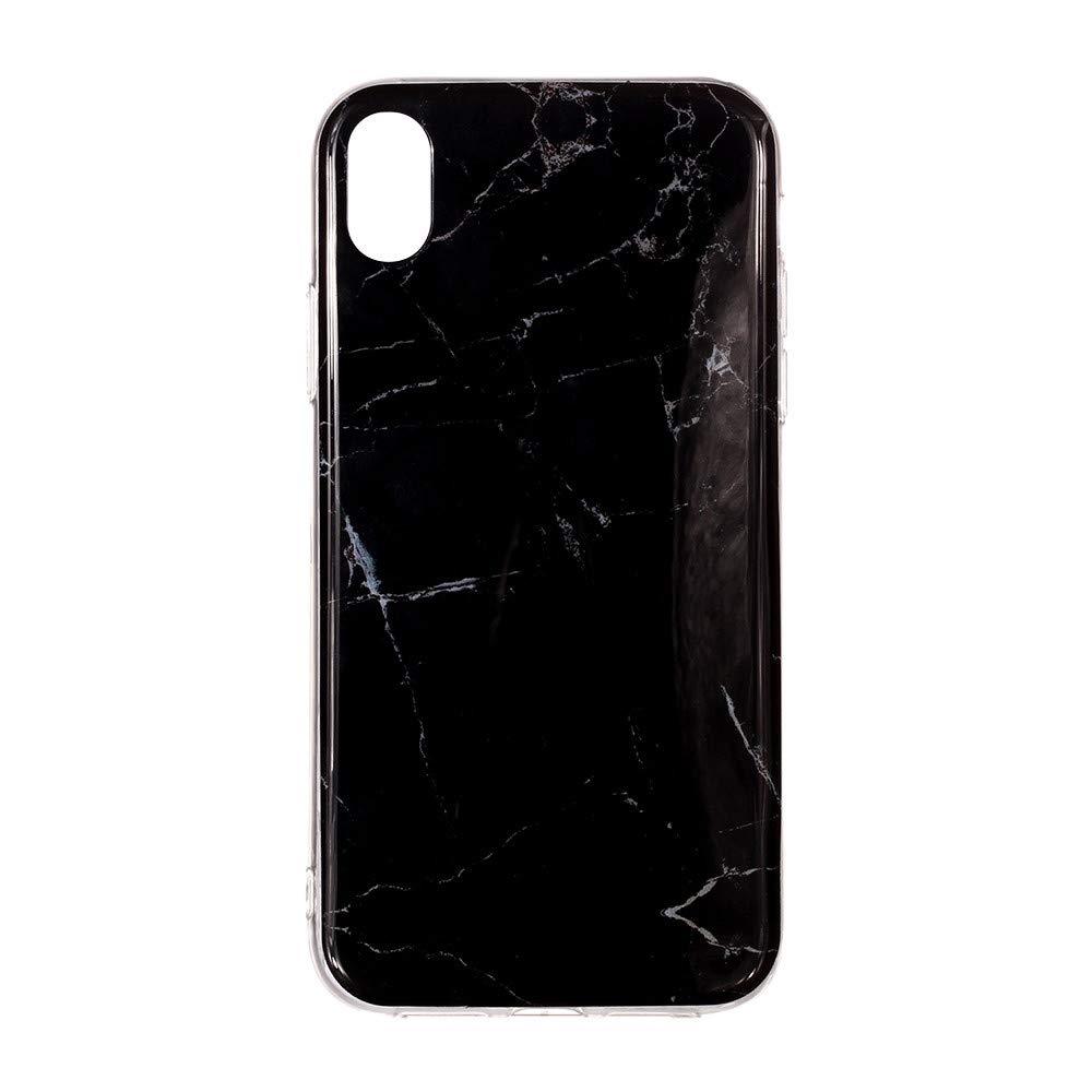 Marmor Gedruckt Malerei Muster TPU Telefon Case F/ür iPhone XR 6,1 Zoll Huhu833 iPhone XR H/ülle