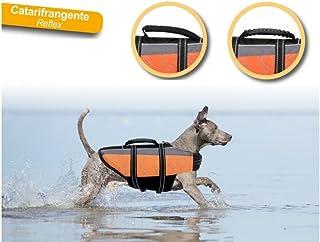 Camon - Chaleco salvavidas reflectante para perros. Varios tamaños disponibles M