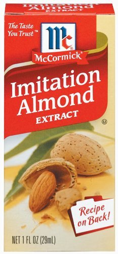 McCormick Almond Extract, Imitation, 1-Ounce Units (Pack of 6) by McCormick