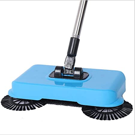 Amazon Com Anyer Tap Floor Scrubber Cordless Sweeper Hand Push