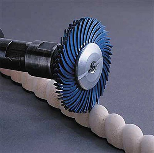 3M (RB-ZB) Radial Bristle Disc Thin Bristle, 3 in x 3/8 in 6 Micron [You are purchasing the Min order quantity which is 80 Disc's]