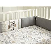 Levtex Baby Night Owl 4 Piece Crib Bumper Set