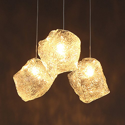 Ice Cube Pendant Light Fixture