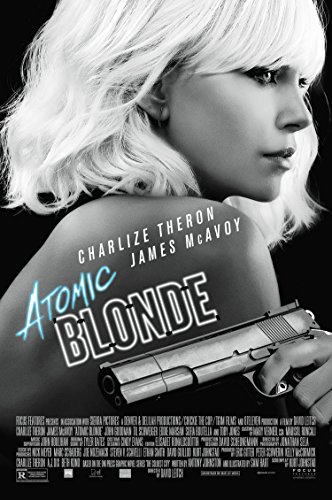 Atomic Blonde Movie Poster 2 Sided Original Ver B Charlize Theron