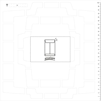 Kuretake handmade mini envelope template sbtp208-21,japanese paper.