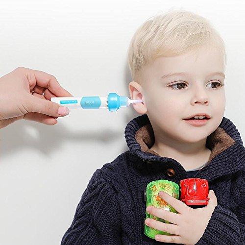 Amyove Electric Ear-pick Tools Set Ear Cleaner Earpick Easy