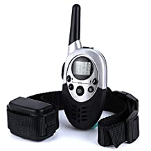 1100 Yards Dog Training Collar with Remote for Small and Large Dogs Adjustable Shock, Vibration, Sound Stimulation Rechargeable and Waterproof Enhance your Pet Training with Advanced Bark Collar (For 1 Dog)