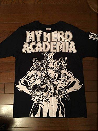 僕のヒーローアカデミア Tシャツ 紺Lの商品画像