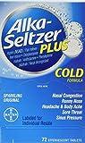 Alka-Seltzer Plus Cold - 72 tablets