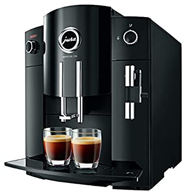 Jura 15006 Impressa C60 Automatic Coffee Center, Piano Black, Promo Bundle.