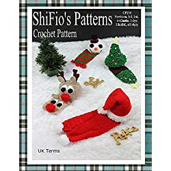 Crochet Pattern - CP230 - Baby Christmas Hats & Scarfs - Newborn, 0-3, 3-6, 6-12,1-3ys - UK Terminology
