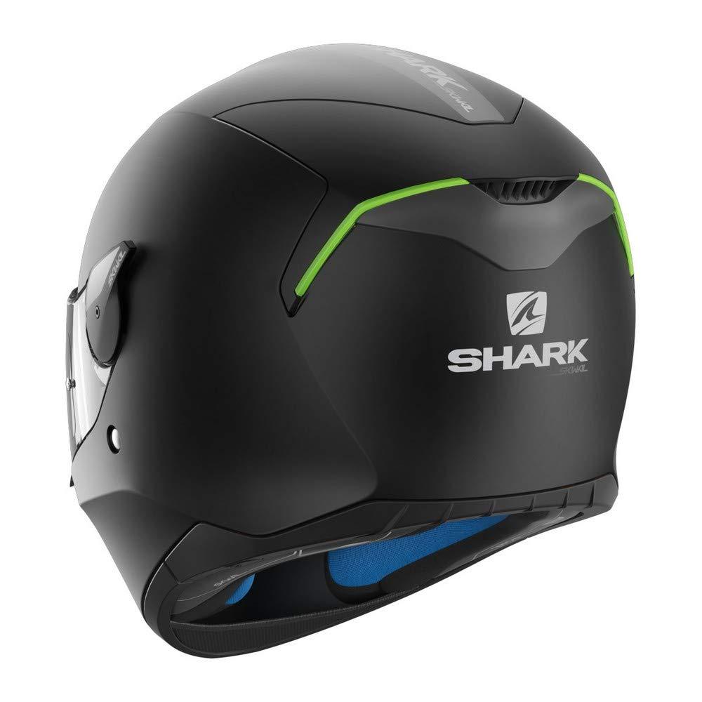 Shark Unisex-Adult Full-face-Helmet-Style Skwal Blank Matte Black Medium HE5402DKMAM