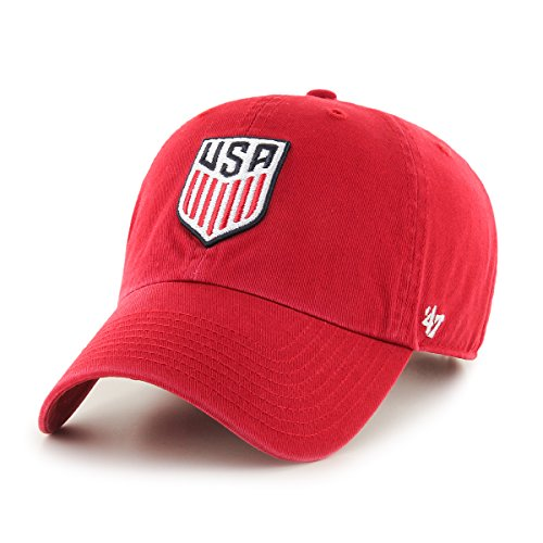 World Cup Soccer United States Yes Cap, One Size, Red (Us Womens National Team)