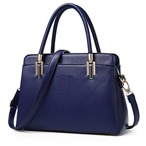 Bleu Portable Fashion RUIREN Messenger Foncé Bandoulière à Sac Sac 06WUB