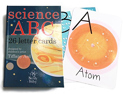 Science ABC Art Cards for Baby and Kids by Tiffany Ard - Includes Gift Box and Glossary