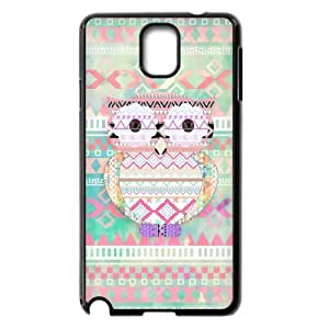 Aztec Tribal Owl Hard Plastic Phone Case for samsung galaxy note 3 Shell Phone ZDSVEN(TM)
